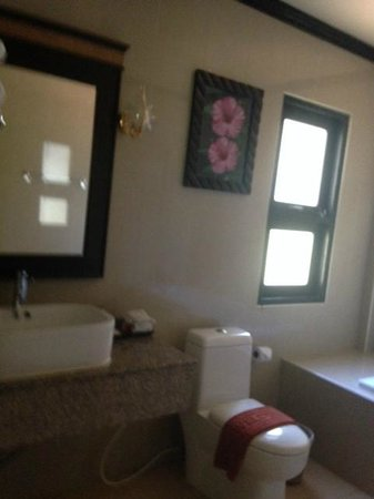 Airport Resort & Spa: yakky bathroom regardless from it looks nice from a distance