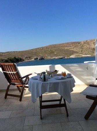 Melian Boutique Hotel & Spa : Breakfast on our balcony