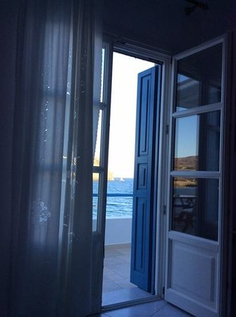 Melian Boutique Hotel & Spa : The view when I opened my eyes in the morning