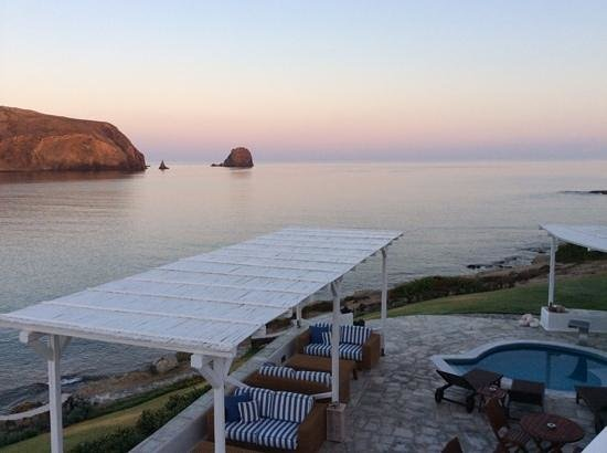 Melian Boutique Hotel & Spa : Sunset (from the private jacuzzi)