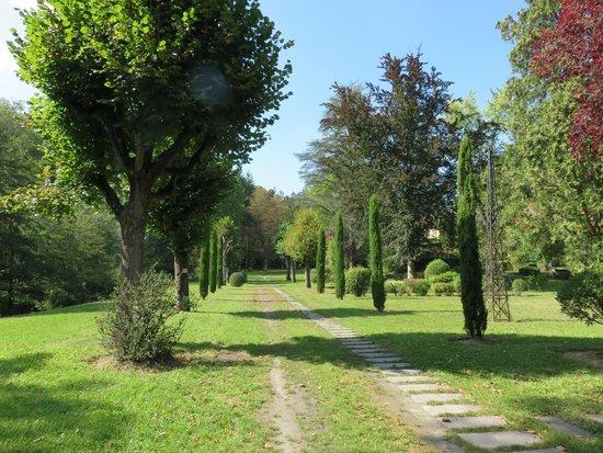 Pavillon de la Rotonde: parc