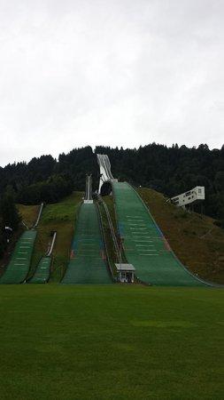 Olympiaschanze: Plataforma de saltos