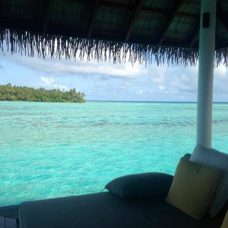 COMO Maalifushi, Maldives : View from Sala in villa