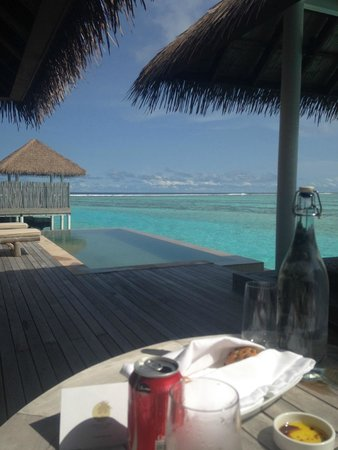COMO Maalifushi, Maldives : Water Villa view