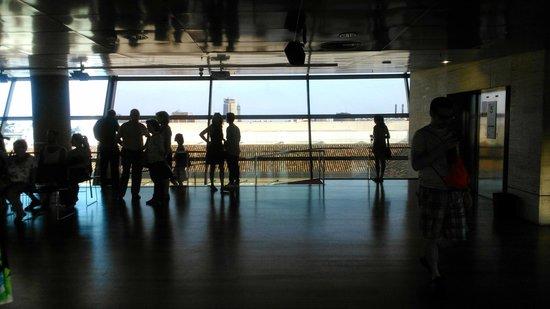 Centre de Cultura Contemporània de Barcelona (CCCB): Mirador - good view of Barcelona
