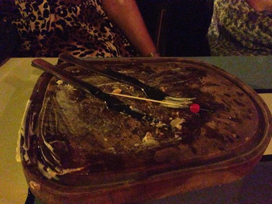 Teatro Latino: This is how good it is clean plate!!