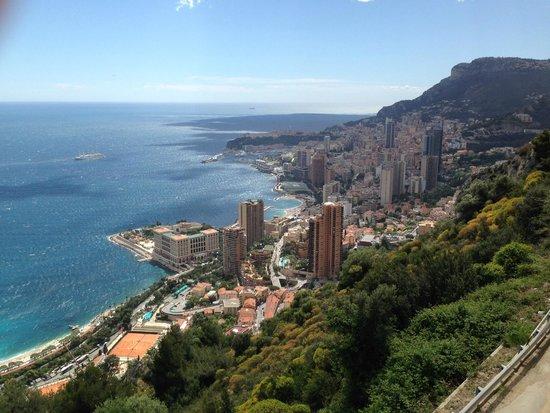 Hotel Ambassador Monaco: Monaco / Monte Carlo von oben