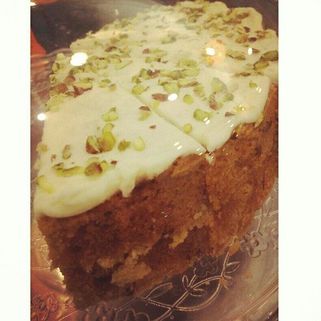 Kahawa Cafe: Zucini and lime cake