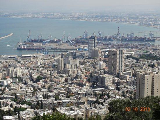 Yefe Nof Street: Хайфа