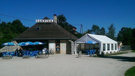 Camping le Galier: Reception