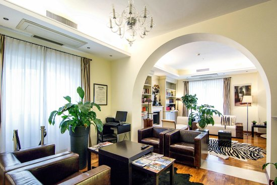 Lounge room - Picture of Terrazza Marconi Hotel & SpaMarine ...