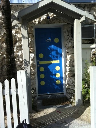 Ibis Bay Beach Resort: The door to my room :-)