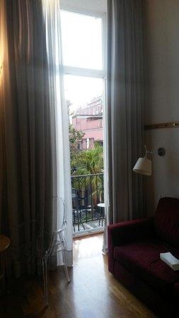 Hotel Piazza Bellini: Angolo relax