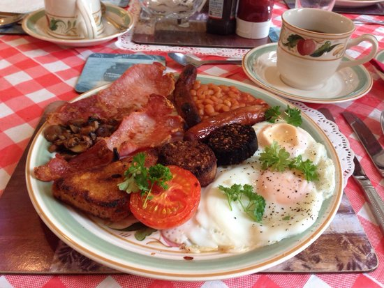 Brookville Guest House: Liam's fabulous Irish breakfast. You certainly won't need for lunch, and maybe not for dinner ei