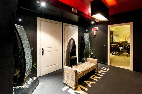 Ingresso Spamarine - Picture of Terrazza Marconi Hotel & SpaMarine ...