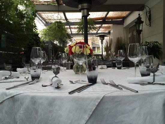 Restaurant Pourquoi Pas?: Terrasse