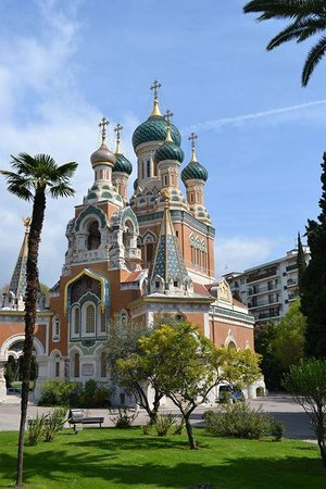 Cathédrale Orthodoxe Russe Saint-Nicolas de Nice : The Exterior