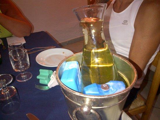 Hotel Bellavista : Brillante soluzione pe rinfrescare il vino