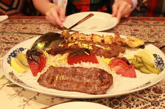 RESTAURANT&BAR BolBol: The Kebab Selection