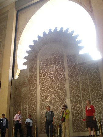 Mosquée Hassan II : One of the mosque doors