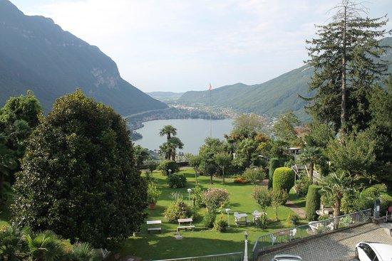 Park Hotel Rovio-Albergo del Parco : vue depuis la chambre