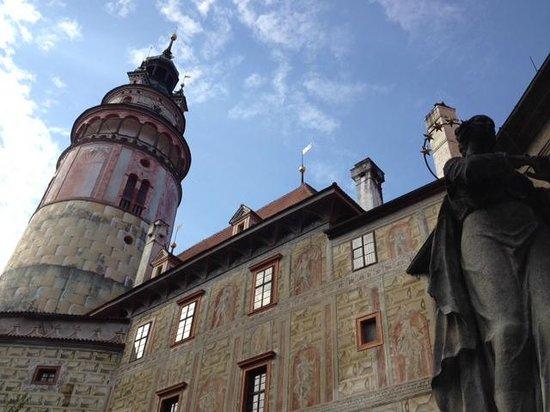 Historic Center of Cesky Krumlov : Schloss Krumau