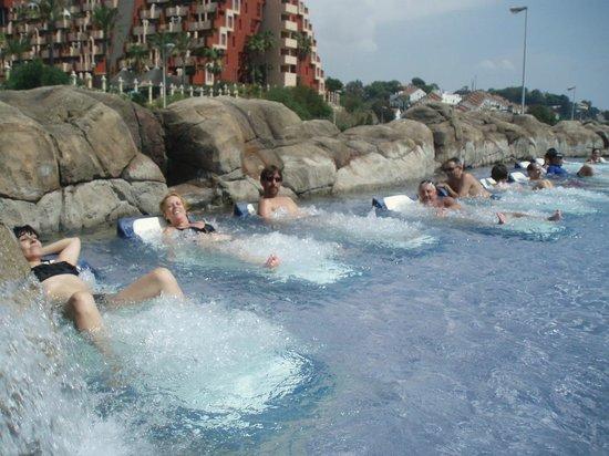 Holiday Palace: zona piscinas