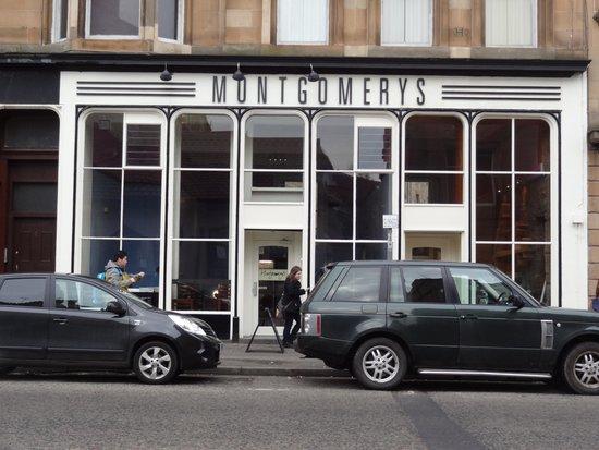 Photo of Cafe Montgomerys at 9 Radnor Street, Glasgow G3 7UA, United Kingdom