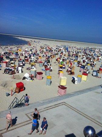 Hotel Weiße Düne: Für jeden einen Strandkorb