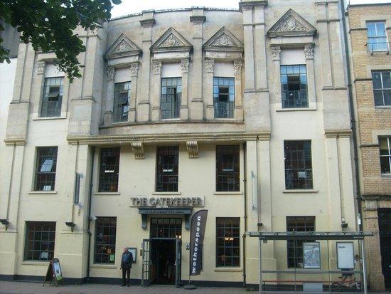 The Gatekeeper: Westgate Street frontage