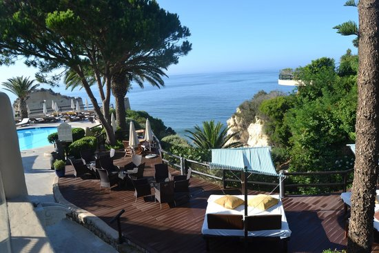 Vilalara Thalassa Resort : vista do Restaurante
