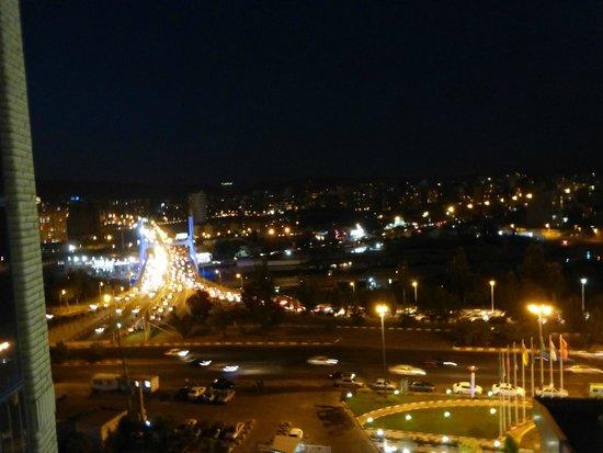 Shahryar International Hotel Tabriz: Vista dalla camera