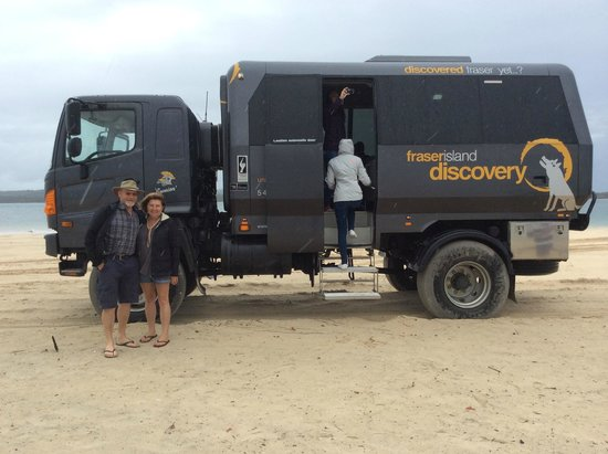 The Discovery Group - Day Tours: 4WD Warrior on Fraser Day Tour