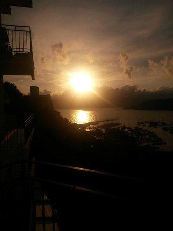 Doria Park Hotel: Vista-terrazzo al tramonto