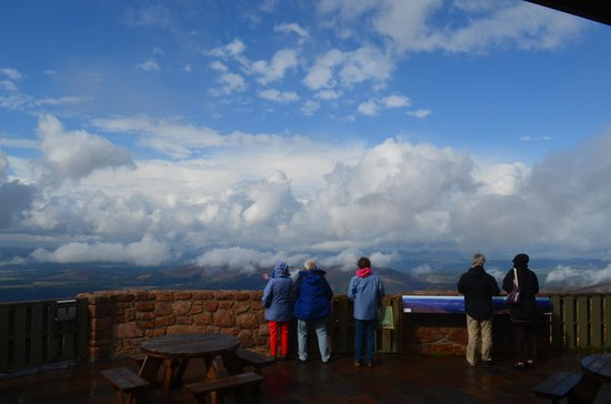 CairnGorm Mountain: Enjoying the view