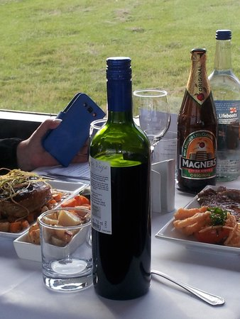 Isle of Man Bus and Rail: Excellent dinner