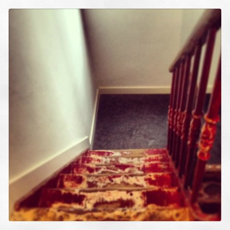Bed in Gent: Flur / Treppe