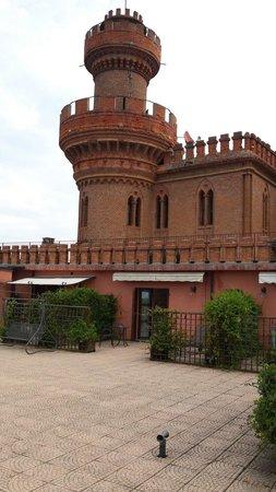 Al Castello: Terasse