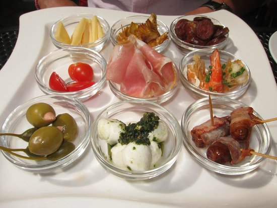 Cavalli - Ristorante - Bar - Cafe: mixed appetizers