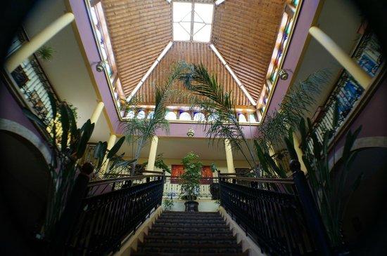 Riad Zahra: main entrance