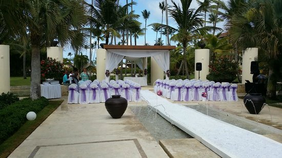 Secrets Royal Beach Punta Cana Wedding Set Up At Now Larimar