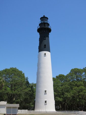Hunting Island State Park Campground: Hunting Island Lighthouse visit