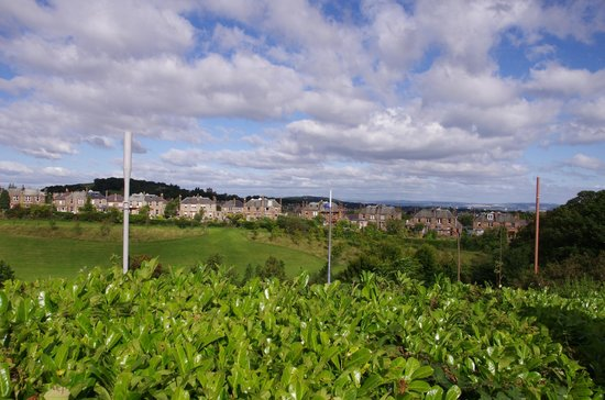 Best Western Edinburgh South Braid Hills Hotel: A view from the car park