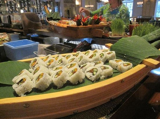 The Circle at The Breakers : delicious sushi