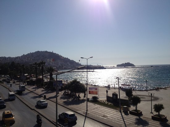 Ilayda Hotel: Sea view from rooftop