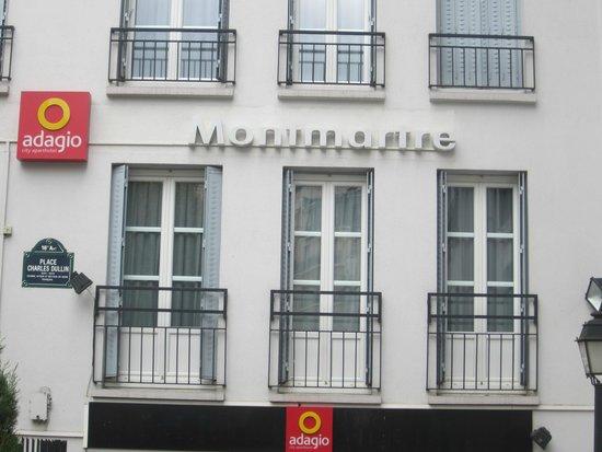 Adagio Paris Montmartre: facade de l'hotel