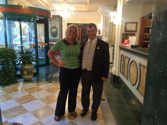 Mecenate Palace: Thanks Antonio for all your help!!!!....allura