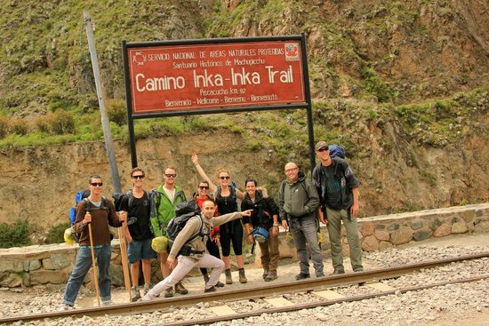 Camino Inca: the beginning of the trail