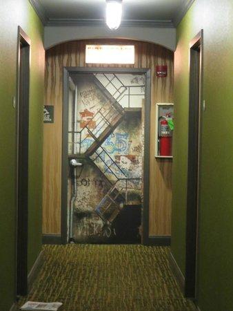 Merveilleux ACME Hotel Company: Fire Escape Door