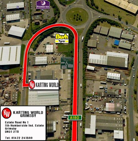 Karting World: Directions from the A180